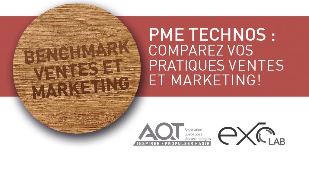 Benchmark ventes et marketing chez les entreprises TIC du Québec : qu'apprendrons-nous ?