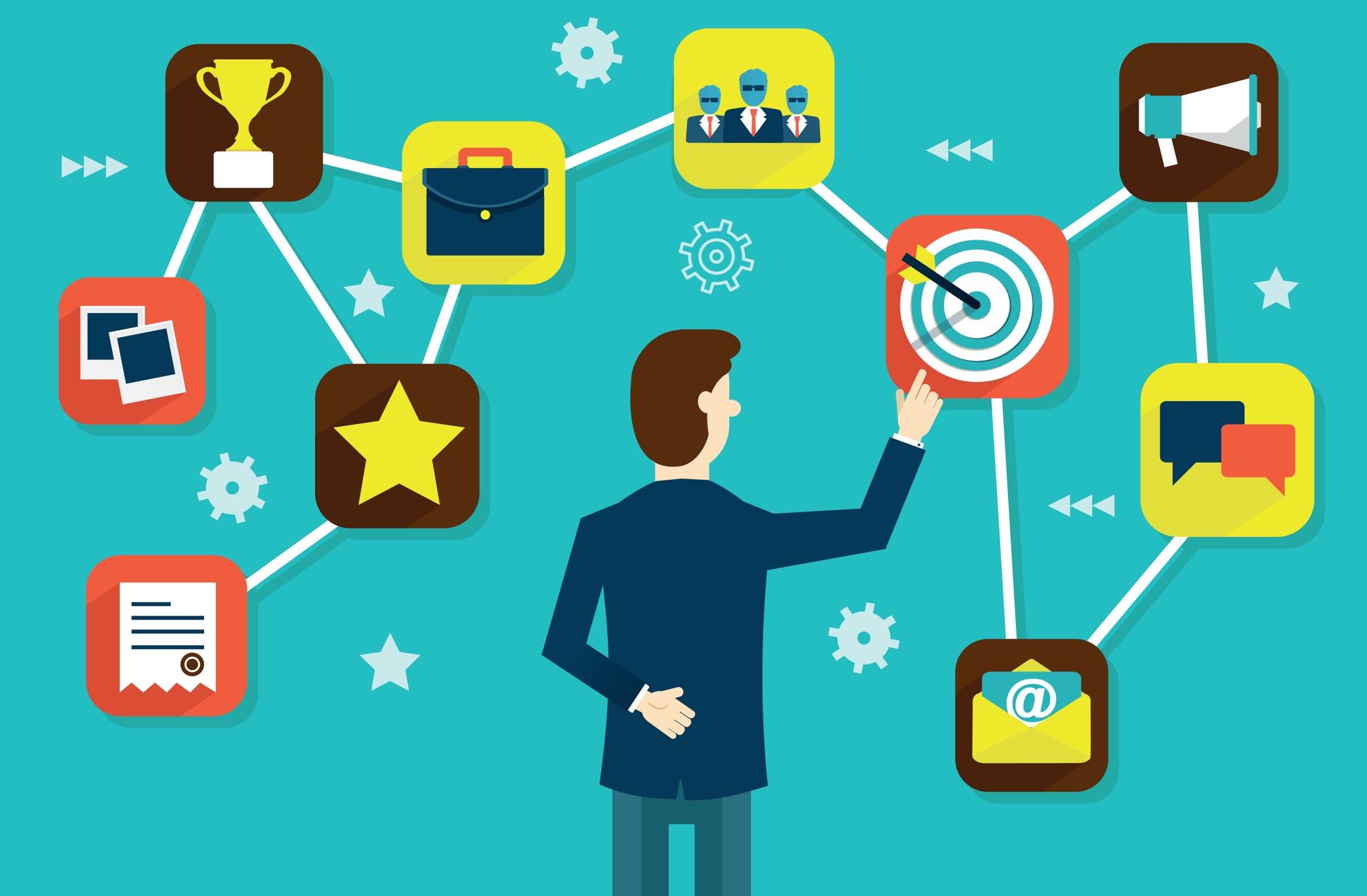 Le logiciel CRM en B2B, un outil pour l'intégration ventes marketing