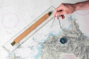 Coordinate compass
