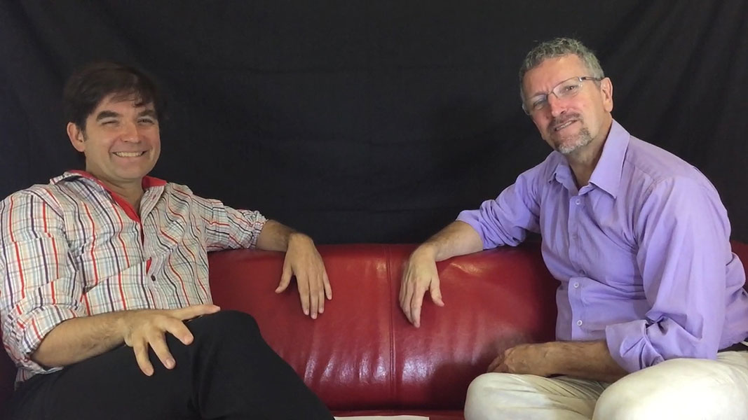 Video 4 Martin Lessard et Alain Thériault discutent de réseaux sociaux en B2B