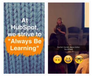 HubSpot-Snapchat