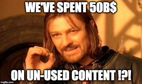 Make memorable content, or keep wasting your money