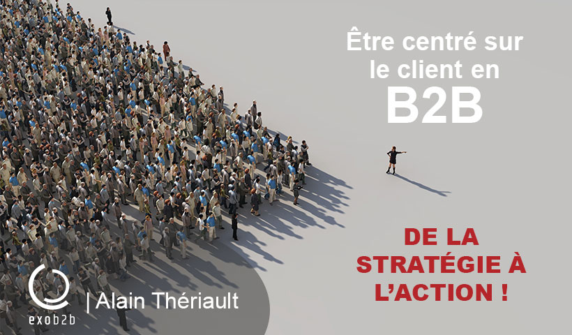 Sommet Les Affaires marketing B2B Alain Thériault