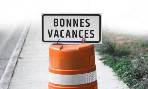 Vacances construction 2018