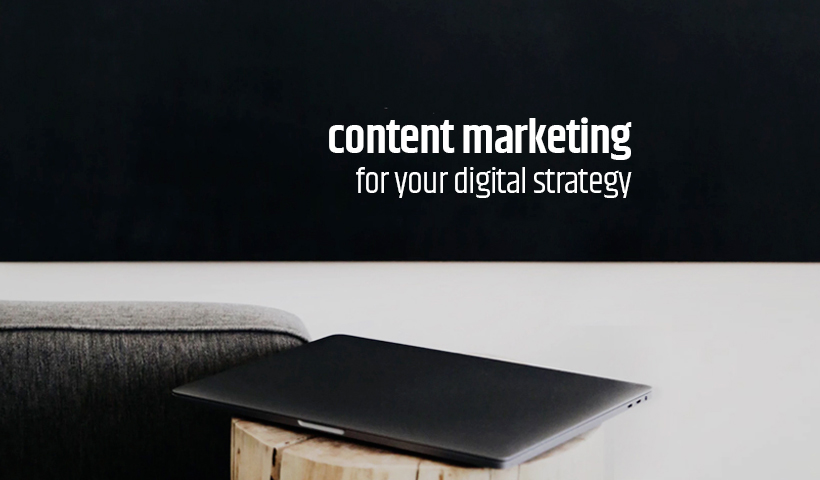 Content marketing for digital strategy