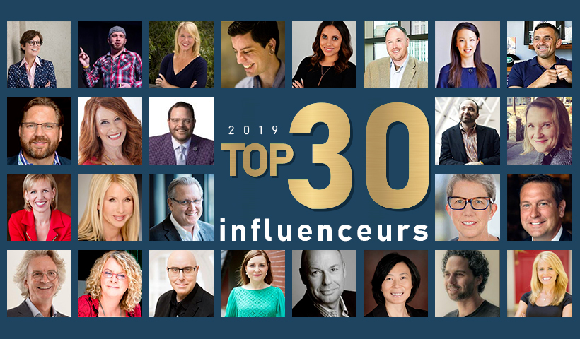 Top 30 influenceurs marketing 2019