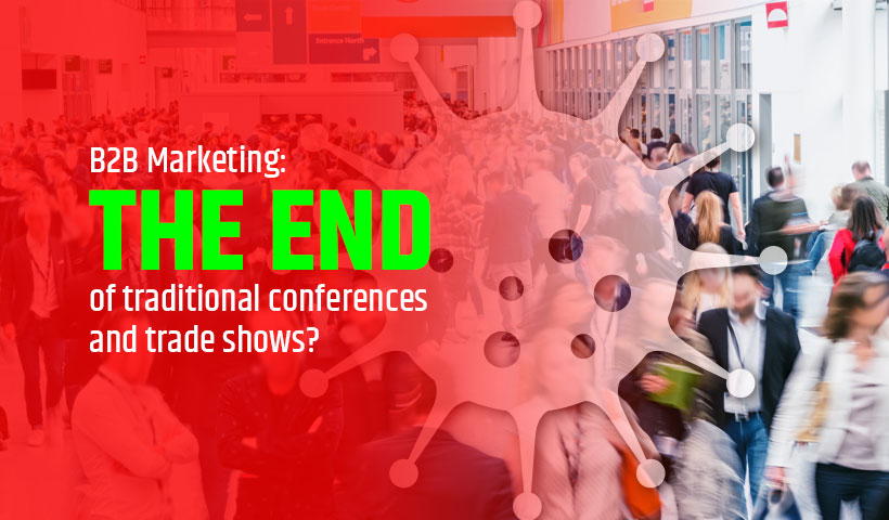 traditional conferences and trade shows